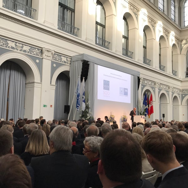 Photo taken at Hamburg Chamber of Commerce by Stefan S. on 12/29/2017