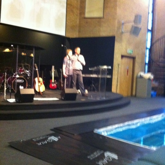 Photo taken at Hitchin Christian Centre by Zenah R. on 10/28/2012