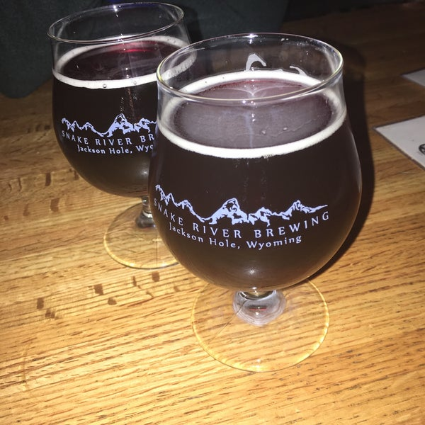 Photo taken at Snake River Brewery & Restaurant by Pierce W. on 2/18/2017