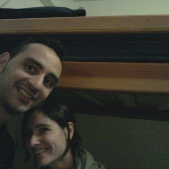 Photo taken at Green Tortoise Hostel by David B. on 10/12/2012
