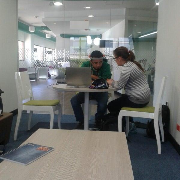 Photo taken at Biblioteca Juan Roa Vásquez by Daniel Alejandro G. on 2/15/2014