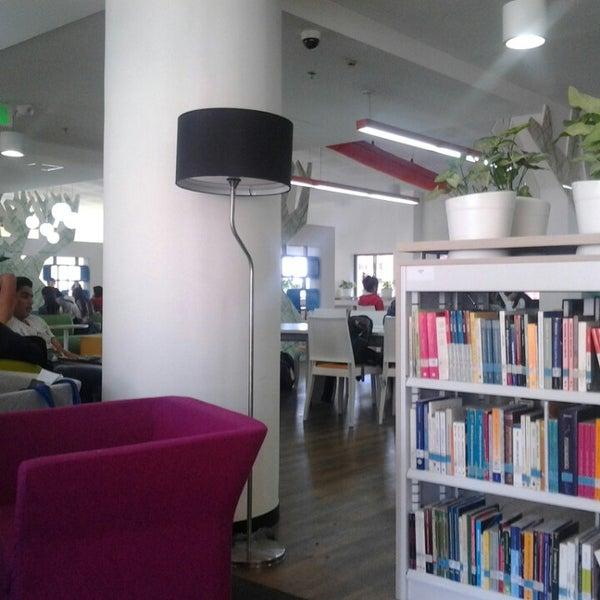 Photo taken at Biblioteca Juan Roa Vásquez by Daniel Alejandro G. on 8/14/2013