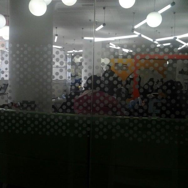 Photo taken at Biblioteca Juan Roa Vásquez by Daniel Alejandro G. on 10/31/2013
