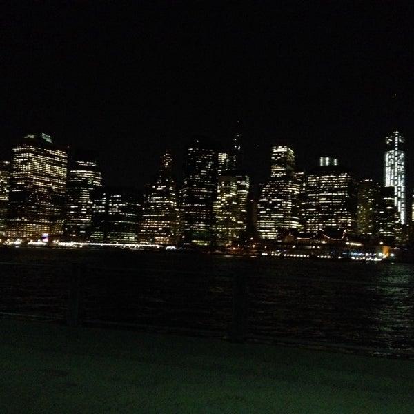 Photo taken at Brooklyn Bridge Park by Michael Z. on 10/21/2013