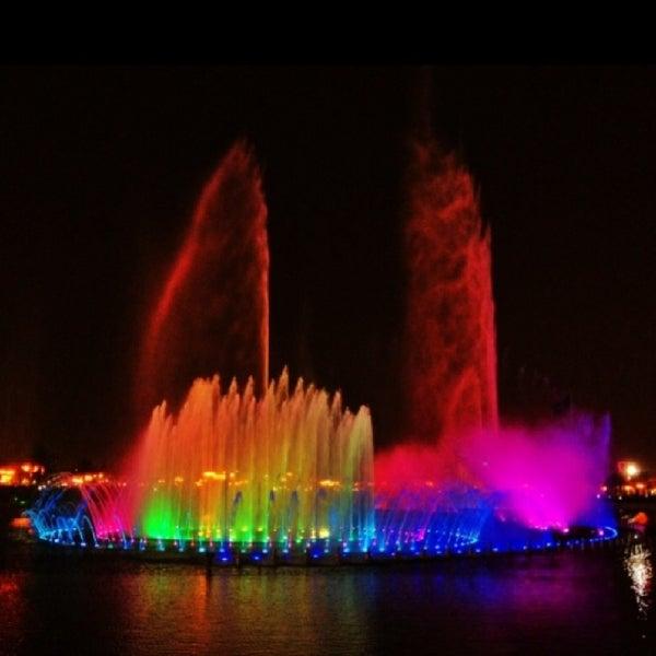Photo taken at King Abdullah Park by Aserg M. on 10/15/2013