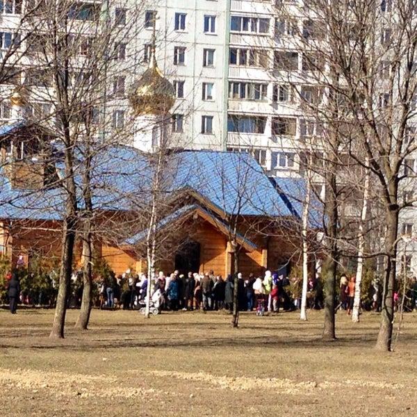 Photo taken at Храм святого Николая Чудотворца by Ulyana S. on 4/11/2015