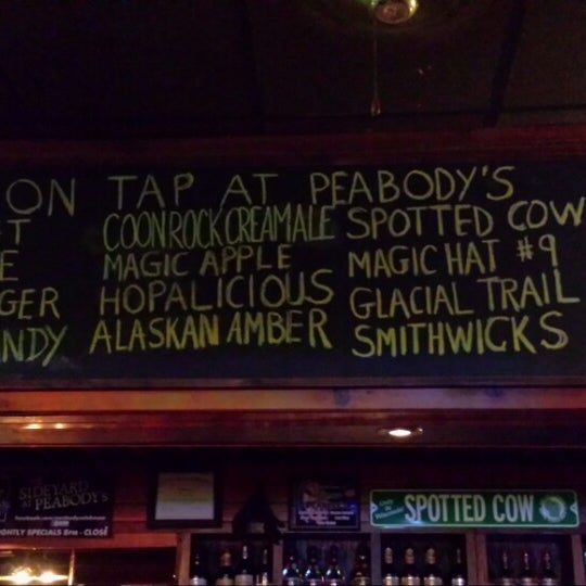 Photo taken at Peabody's Ale House by Cassandra P. on 9/15/2013