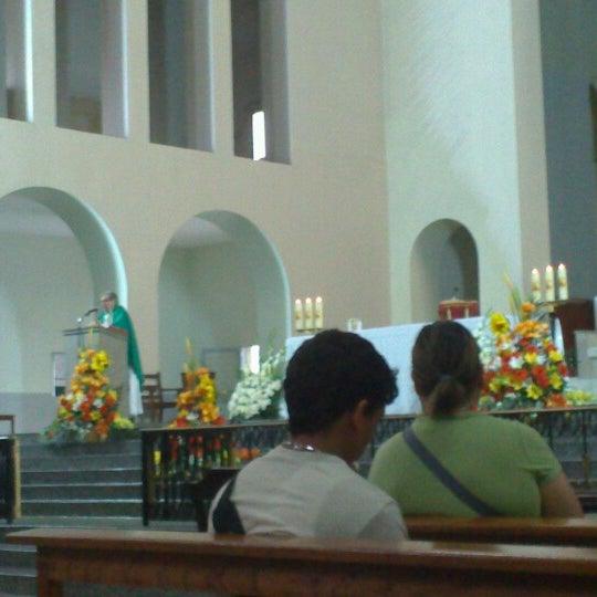 Photo taken at Iglesia Nuestra Señora De La Chiquinquira by Debora I. on 10/21/2012