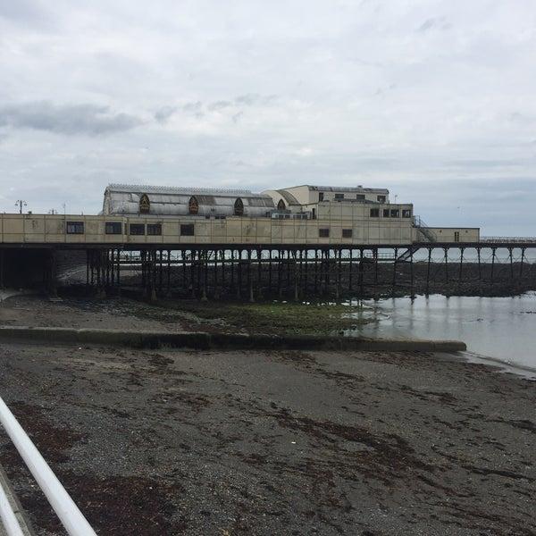 Photo taken at Aberystwyth Beach by David M. on 5/22/2017