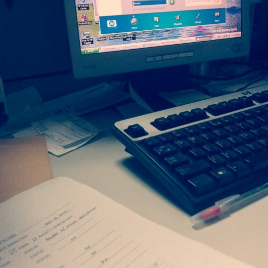 Photo taken at Globe Telecom IT Plaza by Marvin E. on 10/15/2012