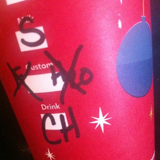Photo taken at Starbucks by Christina H. on 12/12/2012