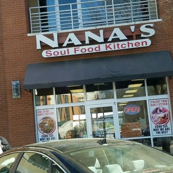 Photo taken at Nana's Soul Food Kitchen by Mimi C. on 3/21/2016