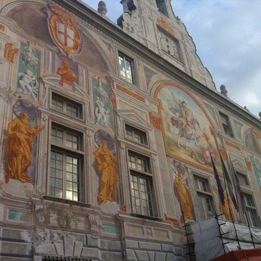 Palazzo san giorgio sito storico in genova for Sito storico
