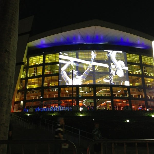 Photo taken at American Airlines Arena by Suzanne B. on 6/4/2013