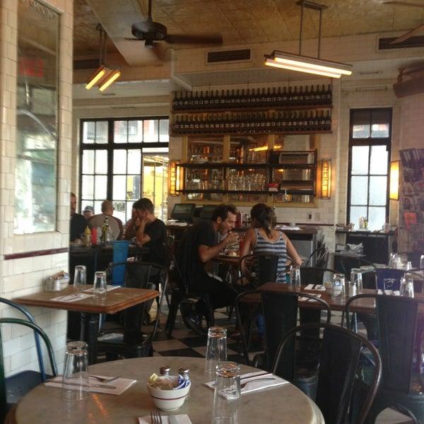 Photo taken at Schiller's Liquor Bar by Mark H. on 9/22/2013