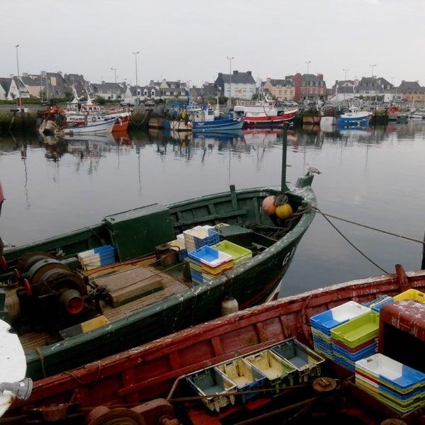 Photo taken at Port du Guilvinec by Nicolas V. on 7/24/2014
