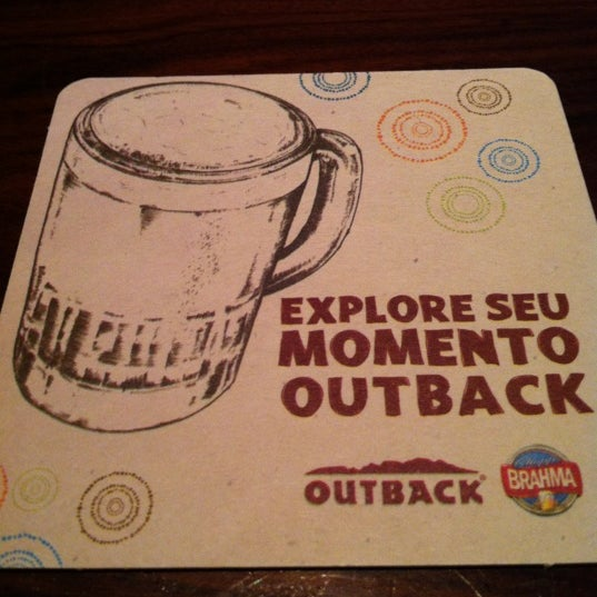 Foto tirada no(a) Outback Steakhouse por Dryelle K. em 10/9/2012