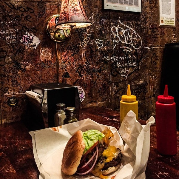 Photo taken at Burger Joint by Mark N. on 12/17/2014