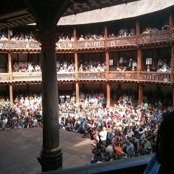 Photo taken at Shakespeare's Globe Theatre by Heinrich S. on 9/1/2013