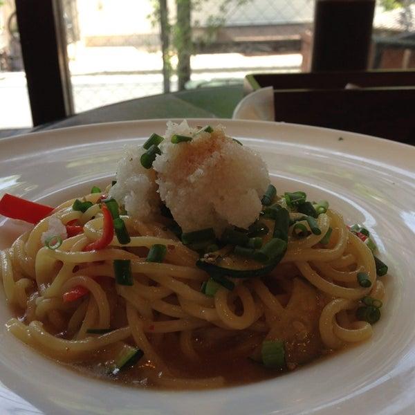 Das Foto wurde bei cucina italiana aria von K K. am 6/5/2013 aufgenommen