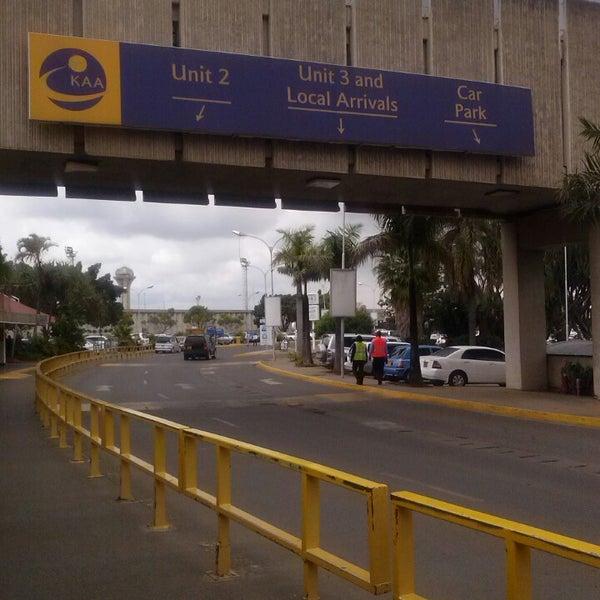 Photo taken at Jomo Kenyatta International Airport (NBO) by Daisy N. on 5/27/2013