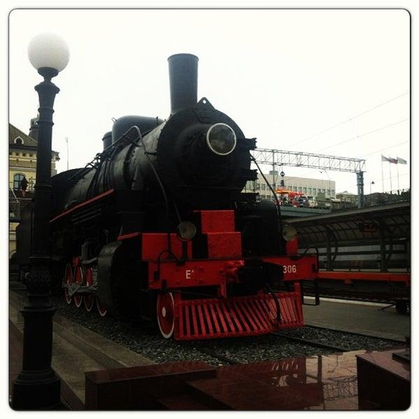 Photo taken at Железнодорожный вокзал Владивостока / Vladivostok Railway Station by Julie P. on 6/17/2013