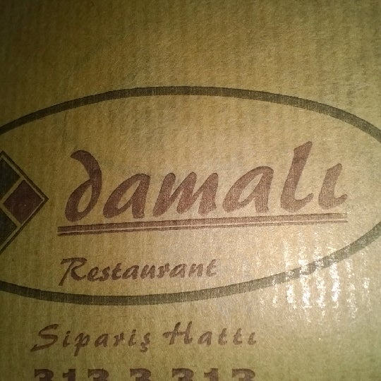 Photo taken at Damalı Restaurant by Ateş Y. on 4/4/2014