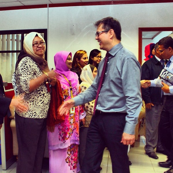 Photo taken at Maybank by Farhan A. on 8/13/2013