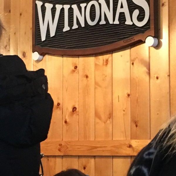 Photo taken at Winona's Restaurant by Ellena on 11/26/2016