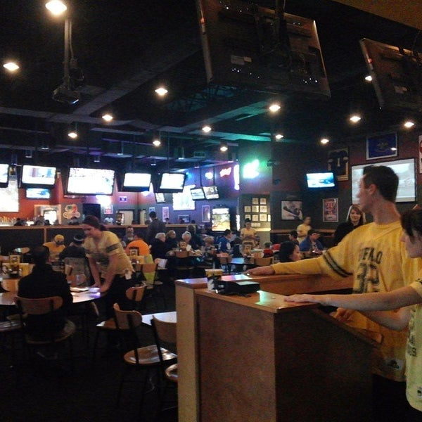 """B uffalo wing chain Buffalo Wild Wings has something called the """"Blazin' Wing Challenge."""" For $, you get a dozen of the chain's chicken wings, slathered in their signature """"Blazin'"""" sauce, the top end of the heat scale in the Buffalo Wild Wings array of sauces."""