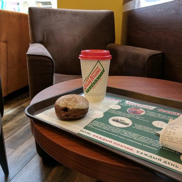 Снимок сделан в Krispy Kreme пользователем Arseniy I. 8/24/2017