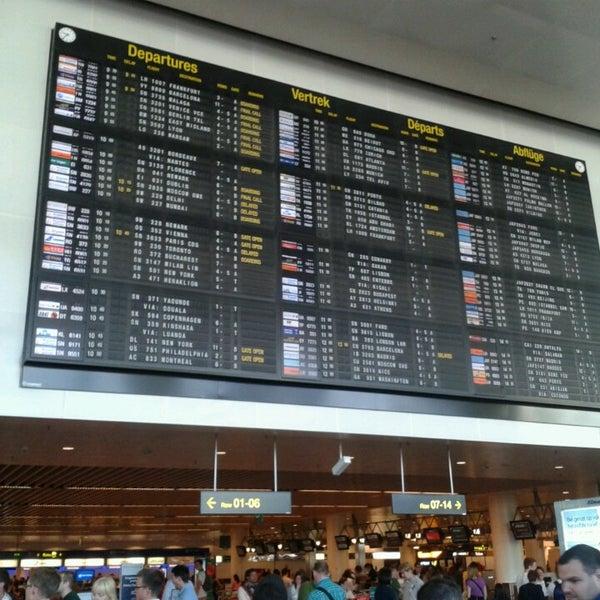 Снимок сделан в Брюссельский аэропорт (BRU) пользователем Rodrigo d. 7/9/2013