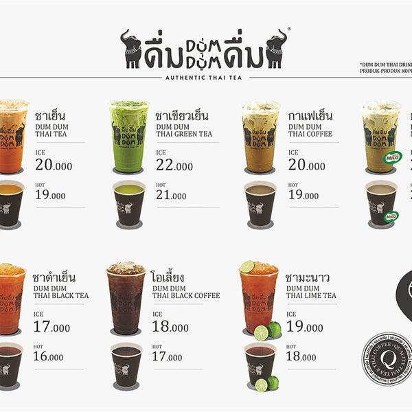Cha Cha Cha Cafe Menu