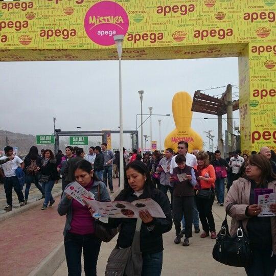 Photo taken at Mistura Perú by Carlos M. on 9/6/2014