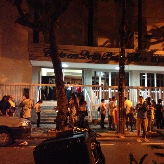 Photo taken at Paróquia Santa Mônica by Delânia C. on 12/2/2012