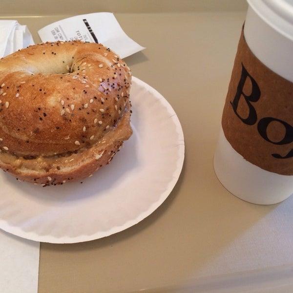 Photo taken at Bodo's Bagels by Scott L. on 12/24/2013