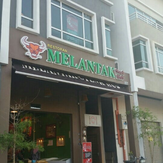 Photo taken at Melantak Steak Hub by Cik D. on 2/16/2016