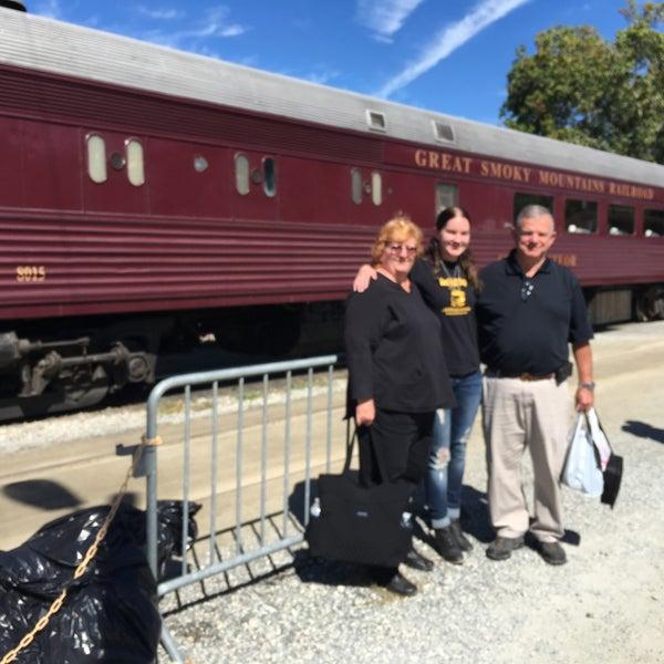 Photo taken at Great Smoky Mountain Railroad by Anita on 10/11/2016