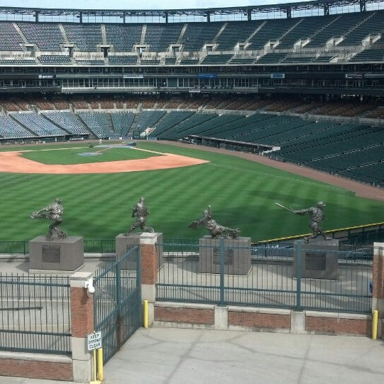 Photo taken at Comerica Park by Steve HD S. on 5/29/2013