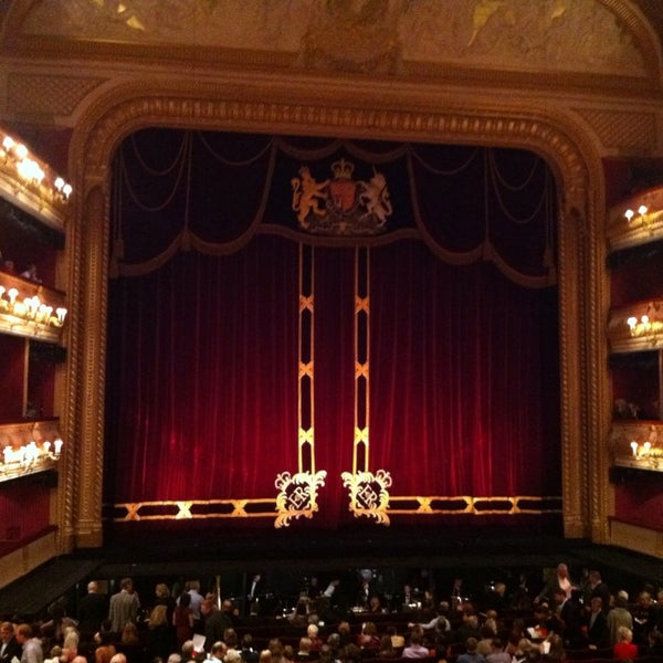 Photo taken at Royal Opera House by Brian O. on 10/23/2013