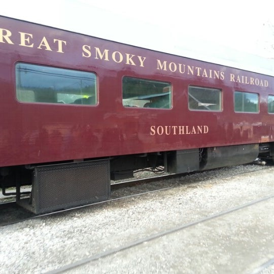 Photo taken at Great Smoky Mountain Railroad by John C. on 12/15/2012