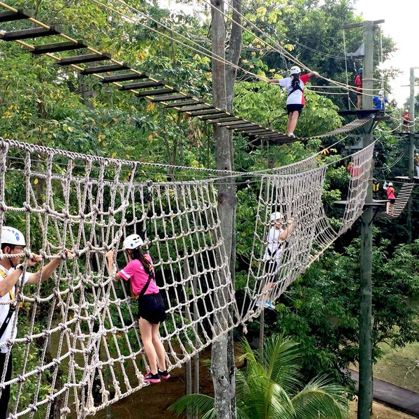 Photo taken at Canopy Challenge Walk@SAFRA Yishun by Elise ?. on 3/ : canopy challenge - memphite.com
