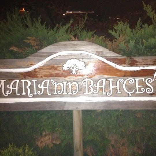 11/1/2012 tarihinde Kürşad T.ziyaretçi tarafından Maria'nın Bahçesi'de çekilen fotoğraf
