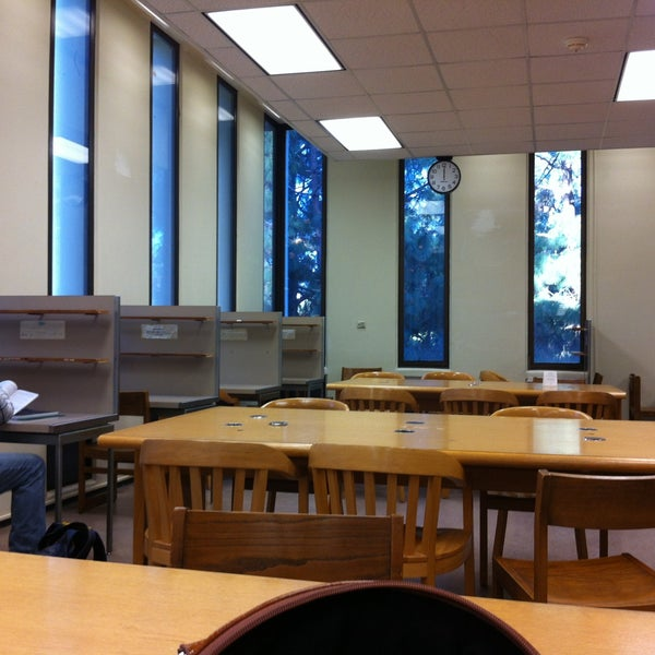 Charles E Young Library Study Rooms