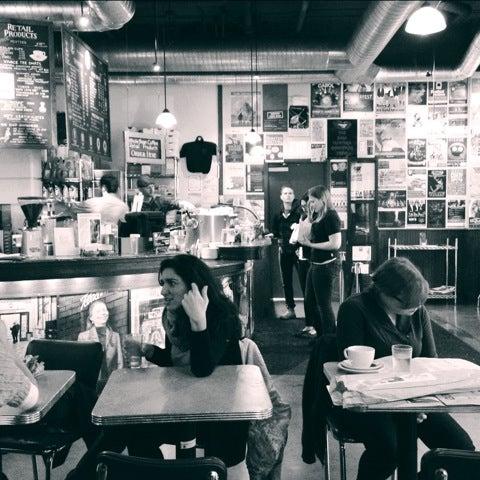 Photo taken at Espresso Vivace by Joy U. on 12/2/2012
