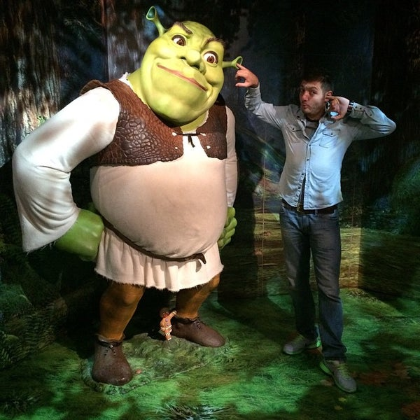 Photo taken at Madame Tussauds by Turan A. on 9/29/2014