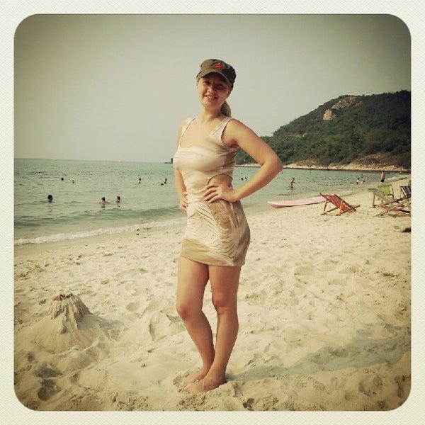 Photo taken at Sai Keaw Beach by Aleksandr S. on 2/12/2013