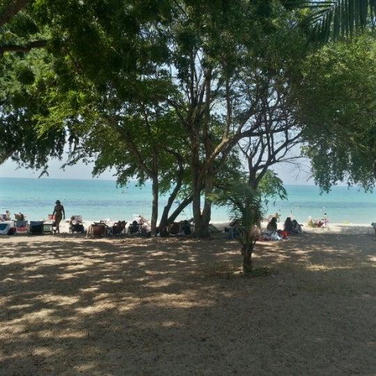 Photo taken at Sai Keaw Beach by Aleksandr S. on 1/5/2013