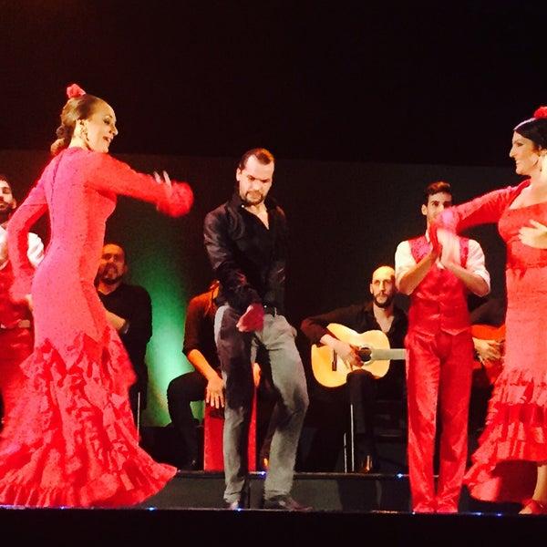 Photo taken at Palacio del Flamenco by Nur Okudan on 9/15/2015