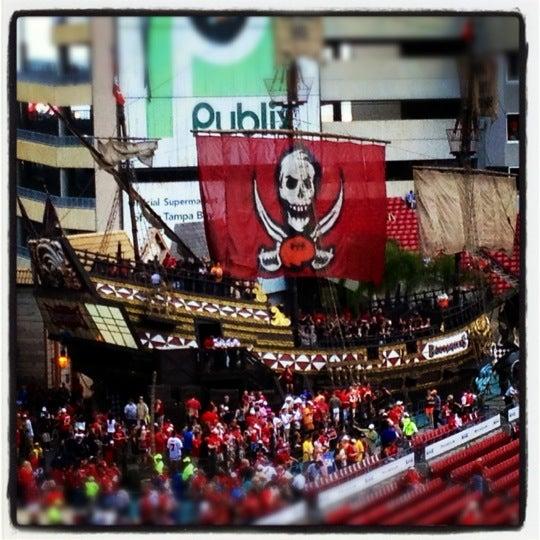 Photo taken at Raymond James Stadium by Dave G. on 11/11/2012